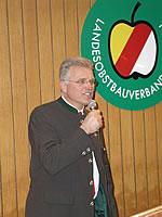 Obmann Hans Innerhofer